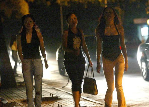 Prostitute cinesi (GOH CHAI HIN/AFP/Getty Images)