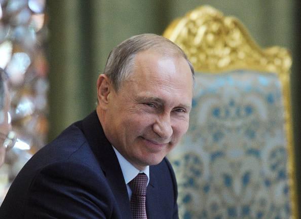 Vladimir Putin (MIKHAIL KLIMENTYEV/AFP/Getty Images)