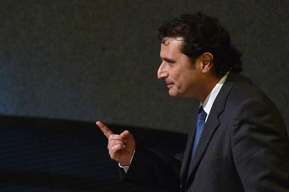 Il comandante Schettino (ALBERTO PIZZOLI/AFP/Getty Images)