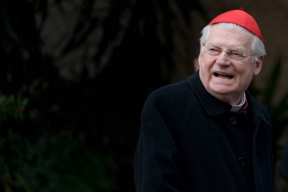 Il cardinale Angelo Scola (JOHANNES EISELE/AFP/Getty Images)