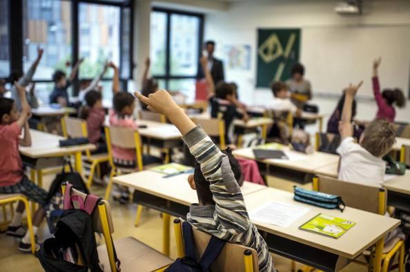 Scuola primaria (Photo JEFF PACHOUD/AFP/GettyImages)