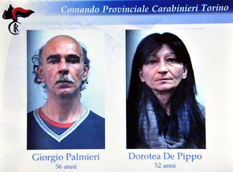 Strage di Caselle, i due arrestati (foto segnaletica Carabinieri)