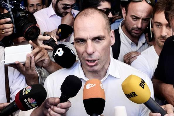 L'ex ministro greco Varoufakis (Milos Bicanski/Getty Images)