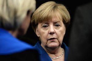 Merkel Deutsche Bank