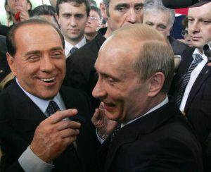 Putin Berlusconi