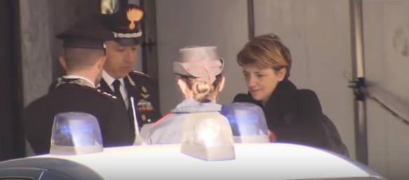 I carabinieri nella ditta Bozzoli (screen shoot you tube)