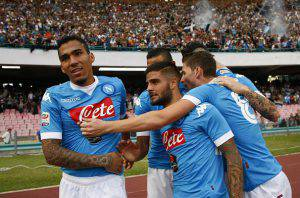 Insigne (Photo credit should read CARLO HERMANN/AFP/Getty Images)