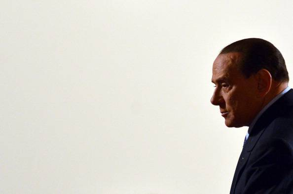 Silvio Berlusconi (VINCENZO PINTO/AFP/Getty Images)