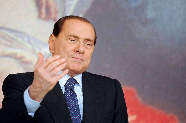Silvio Berlusconi (ALBERTO PIZZOLI/AFP/Getty Images)