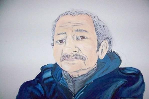 Carlo Palatroni in un ritratto (foto da Facebook)