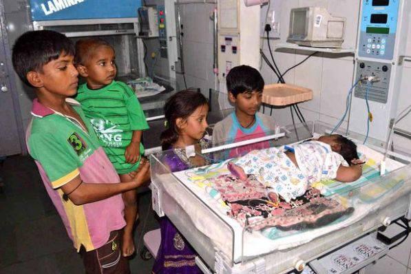 Il neonato più grande dell'India: ecco quanto pesa…