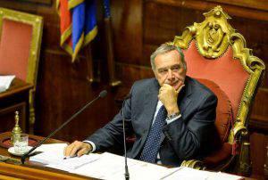 Pietro Grasso (ANDREAS SOLARO/AFP/Getty Images)