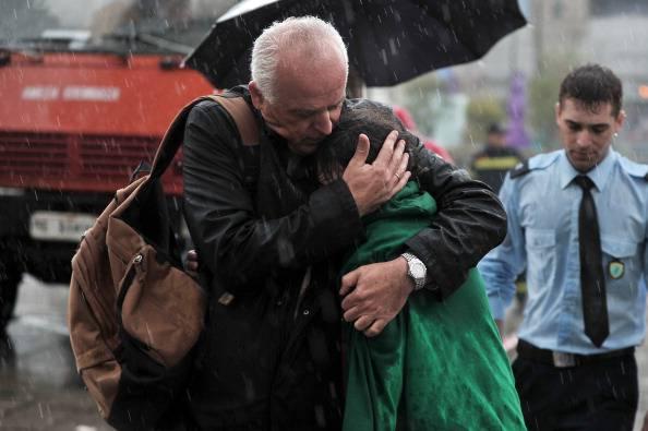 Tragedia familiare (LOUISA GOULIAMAKI/AFP/Getty Images)