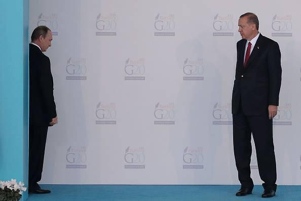 Putin ed Erdogan (Chris McGrath/Getty Images)