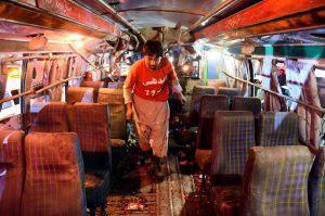 Esplosione Bus Tunisi