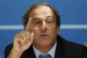 Michel Platini (Photo credit should read VALERY HACHE/AFP/Getty Images)
