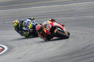 Rossi-Marquez (Photo by Mirco Lazzari gp/Getty Images)