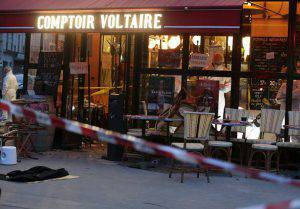 David infermiere kamikaze Parigi