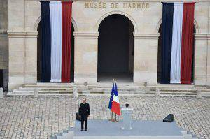 Parigi Terrorismo Hollande