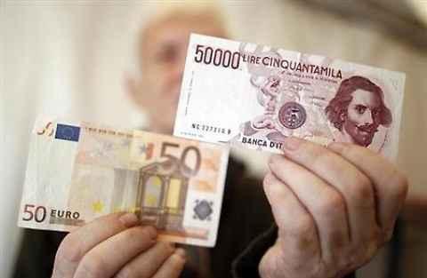 Cambiare euro in lire fonte liberoquotidiano.it