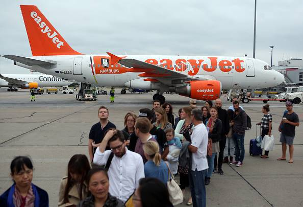 Aereo Easyjet.  (Photo by Adam Berry/Getty Images)