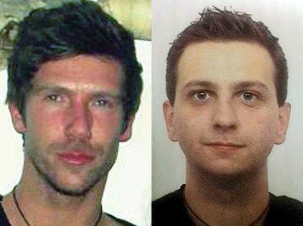 Gli assassini di Adriano Manesco (foto dal web)