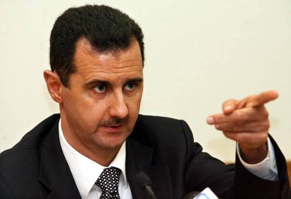 Bashar al-Assad (YURI KADOBNOV/AFP/Getty Images)