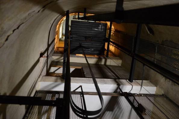 Cabina dell'ascensore (PABLO PORCIUNCULA/AFP/GettyImages)