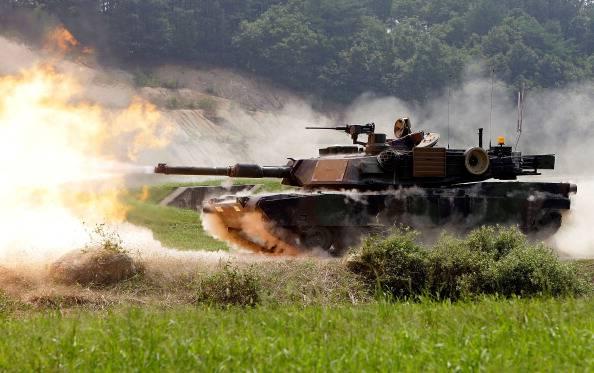 Carro armato (Chung Sung-Jun/Getty Images)