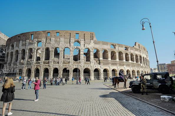 Colosseo (ANDREAS SOLARO/AFP/Getty Images)