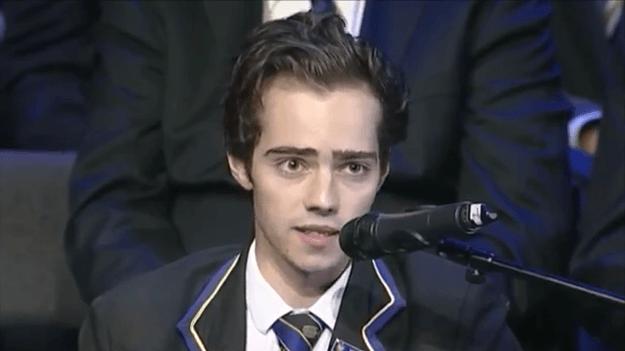 L'addio del giovane studente malato terminale – VIDEO