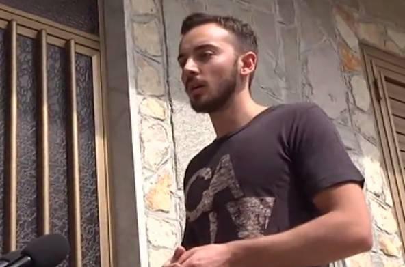 Giosuè Ruotolo in un'intervista (screenshot Youtube)