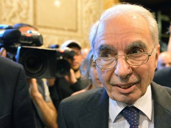 Giuliano Amato (VINCENZO PINTO/AFP/Getty Images)