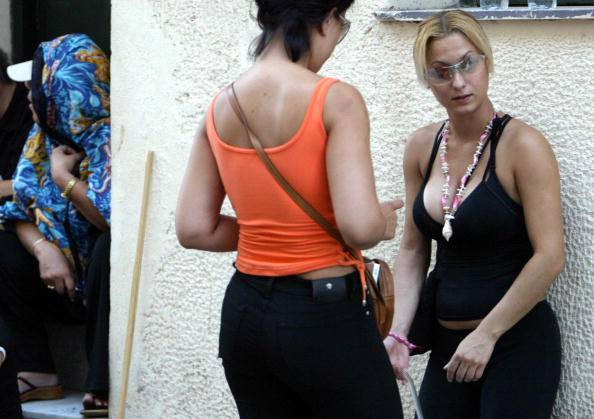 Prostituzione in Grecia (FAYEZ NURELDINE/AFP/Getty Images)
