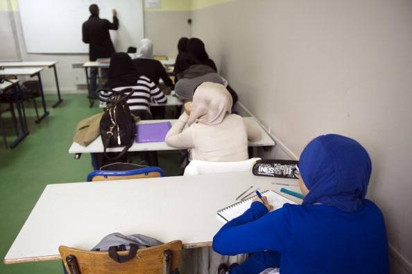 Bambine musulmane (LIONEL BONAVENTURE/AFP/Getty Images)