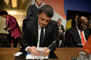 Matteo Renzi (FILIPPO MONTEFORTE/AFP/Getty Images)