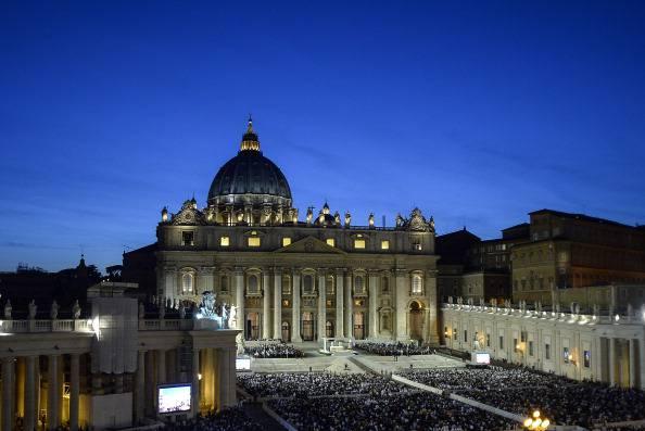 Piazza San Pietro (ANDREAS SOLARO/AFP/Getty Images)