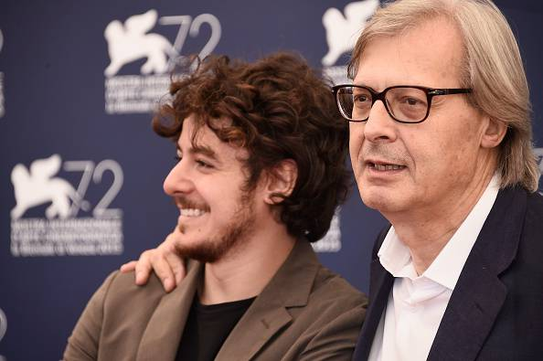 Vittorio Sgarbi in una recente uscita pubblica (Ian Gavan/Getty Images)
