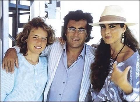 Ylenia Carrisi con i genitori fonte Tuttogratis.it