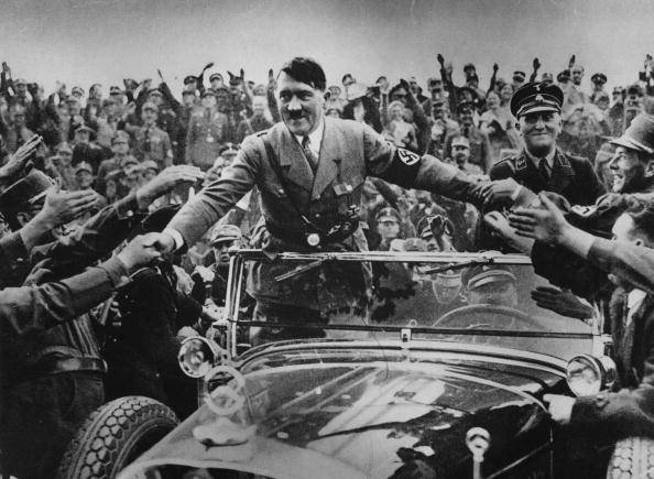 Adolf Hitler .  (Photo by Hulton Archive/Getty Images)