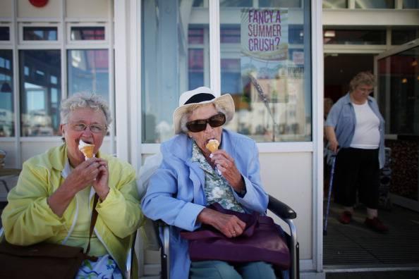 Anziani pieni di vita (Photo by Peter Macdiarmid/Getty Images)