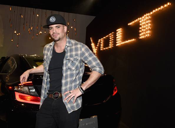 Star di GLEE Mark Salling. (Photo by Michael Buckner/Getty Images for Chevrolet Volt)