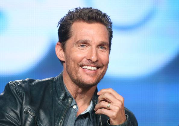 Matthew McConaughey, DILF perfetto (Photo by