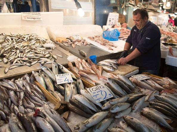 Prodotti ittici ritirati dal mercato (Photo by Matt Cardy/Getty Images)