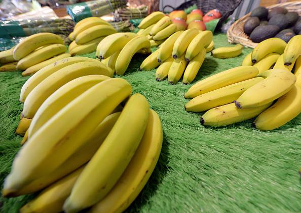 Banane      (Photo credit should read GEORGES GOBET/AFP/Getty Images)