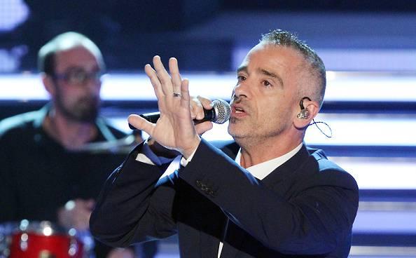 Eros Ramazzotti a Sanremo 2016  (Photo by Sebastian Willnow/Getty Images)