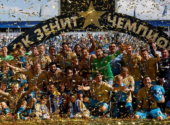 Zenit San Pietroburgo (Photo by Epsilon/Getty Images)