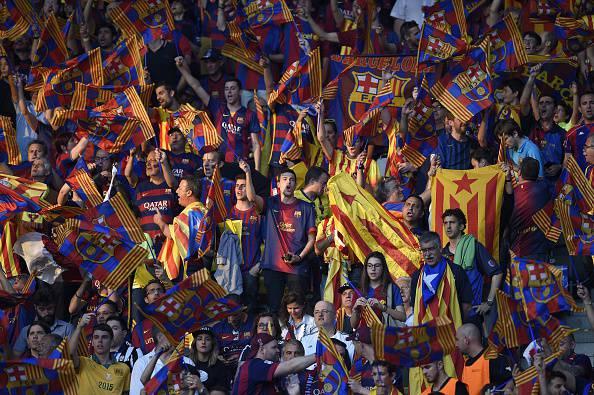 Barcellona (Photo credit should read LLUIS GENE/AFP/Getty Images)