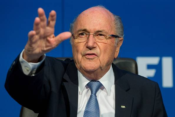 Joseph S. Blatter (Photo by Philipp Schmidli/Getty Images)