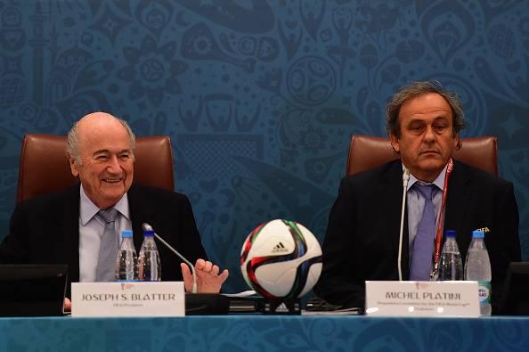Blatter-Platini (Photo by Shaun Botterill/Getty Images)